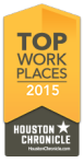 Top Work Places 2015, Houston Chronical