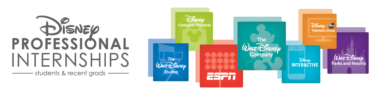 Disney Professional Internship, Students and Recent Grads