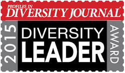 2015 Diversity Leader Award by Diversity Journal