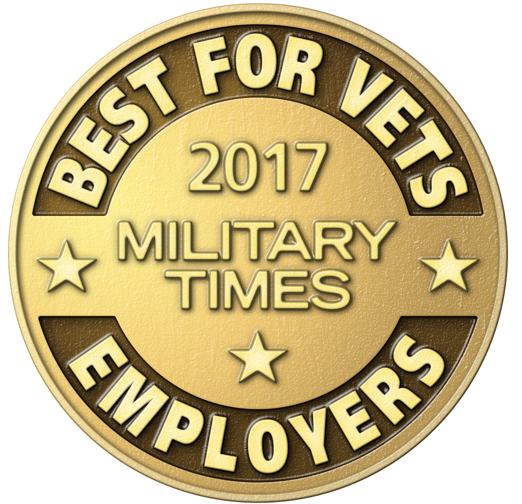 2017 Award for Kellogg's Best for Vets, Military Times