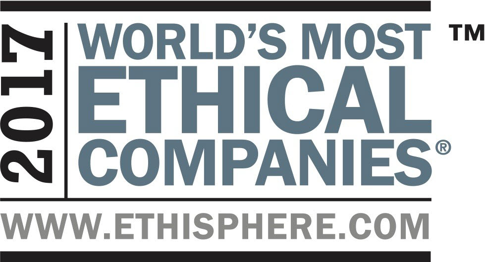 2017 Award for Kellogg's Ethisphere Institute, World's Most Ethical Companies