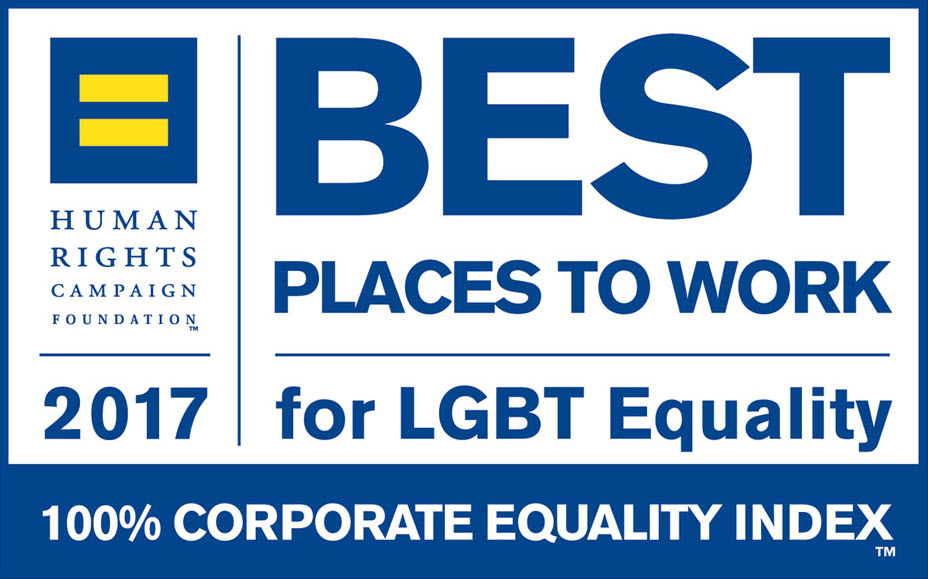 2017 Award for Kellogg's LGBT Best Places To Work for LGBT Equality Score One Hundred Percent Corporate Equality Index