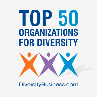 MetLife was named one of the top 50 organizations for diversity by DiversityBusiness.com