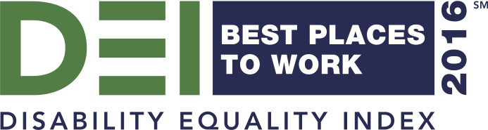 2016 Best Places To Work Disability Equality Index 100%
