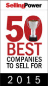 2015 Selling Power Fifty Best Companies to Sell For