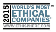 2015 World's Most Ethical Companies. www.ethisphere.com