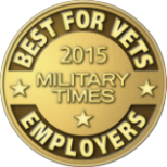 2015 Military Times. Best For Vets Employer.
